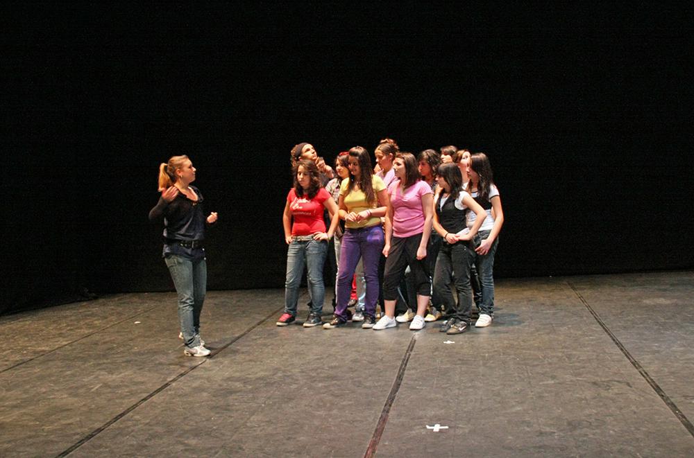 Spettacolo teatrale studenti sezione liceale