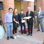 Premiazione della prima classificata