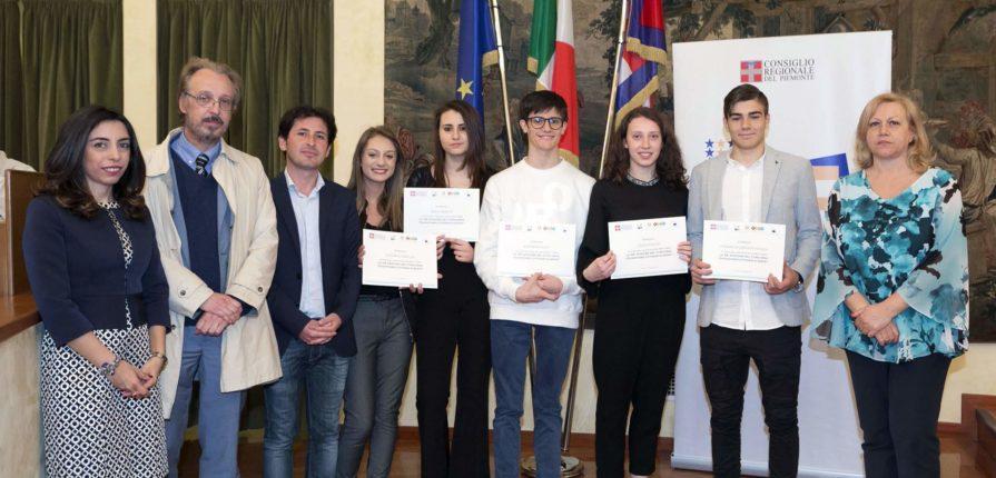Cerimonia di premiazione del concorso Diventiamo cittadini europei.