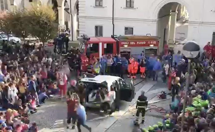 Manifestazione Evviva a Collegno